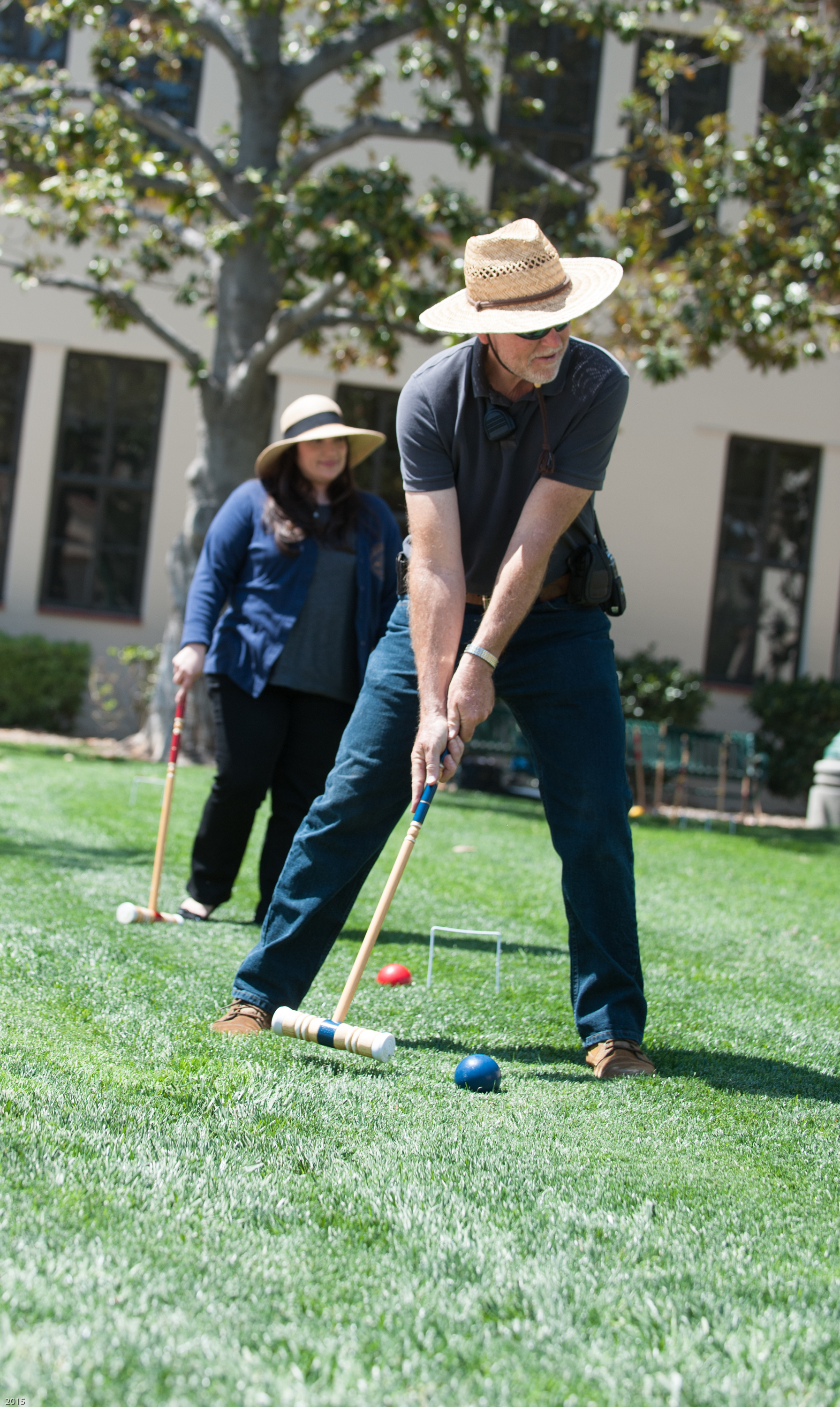 Classified Staff Development Day 2017 croquet